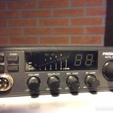 Radios antiguas: EMISORA PRESIDENT WILSON RADIOAFICIONADO. Lote 222243541