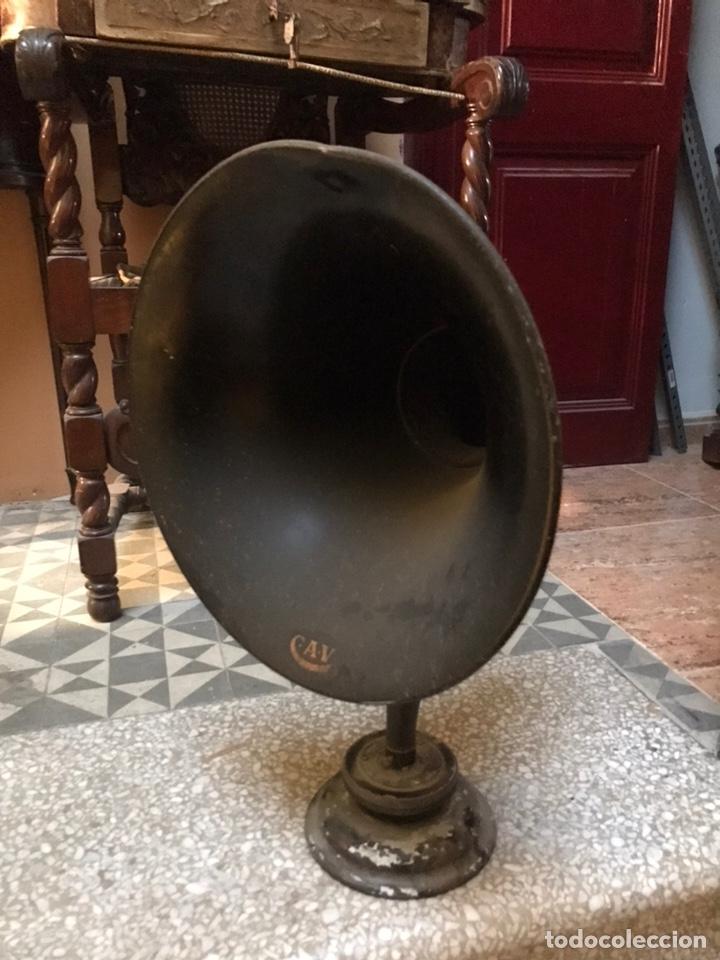 Radios antiguas: Alto parlante. altavoz de radio - Foto 5 - 222497556