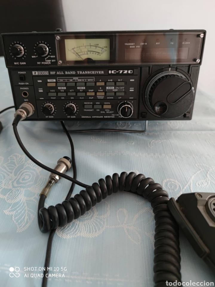 EMISORA BASE RADIOAFICIONADO ICOM IC720 (Radios, Gramófonos, Grabadoras y Otros - Radioaficionados)
