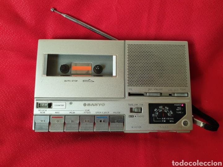 ANTIGUO RADIO/CASSET SANYO M6600F (Radios, Gramófonos, Grabadoras y Otros - Radioaficionados)