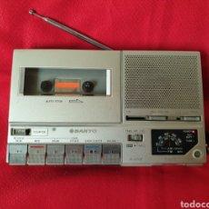 Radios antiguas: ANTIGUO RADIO/CASSET SANYO M6600F. Lote 222664648