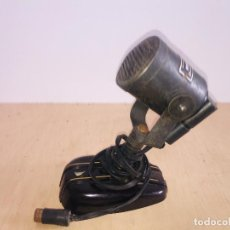 Radios antiguas: MICROFONO MELODYNAMIC CON PIE DE BAQUELITA MARRON. Lote 222803207