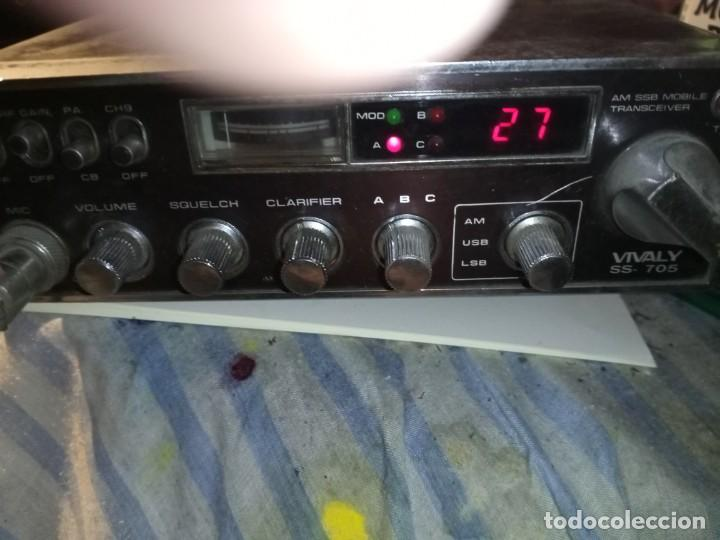 Radios antiguas: Emisora CB marca Vivaly ss705 - Foto 6 - 217560152