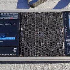Radios antiguas: RADIO DE 9 BANDAS PHILIPS D7456 MULTI BANDA AM FM MW LW SW CASETE. Lote 229711230