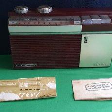 Radio antiche: RADIO LAVIS S.A FABRICADO EN ESPAÑA PARA PIEZAS. Lote 231352895