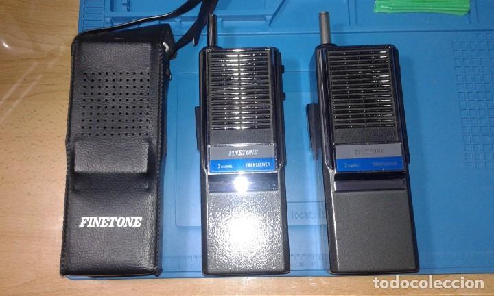 PAREJA DE WALKIES FINETONE (Radios, Gramófonos, Grabadoras y Otros - Radioaficionados)