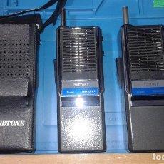 Radios antiguas: PAREJA DE WALKIES FINETONE. Lote 233594960