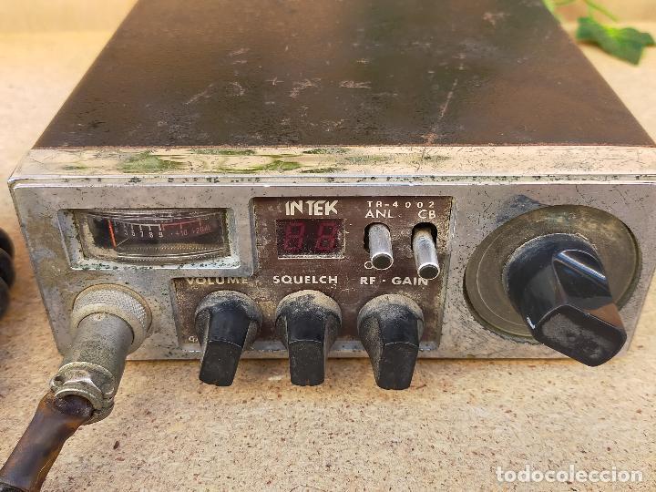 Radios antiguas: RADIO RADIO AFICIONADO INTEX - Foto 2 - 235811790
