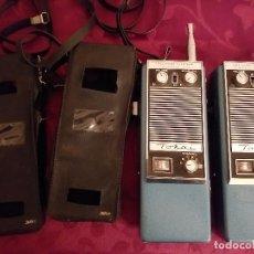 Radios antiguas: PAREJA WALKIE TALKIE TOKAI TC 3006. Lote 236658160