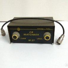 Radios antiguas: CONECTOR ANTENA MATCHBOX. Lote 242320955