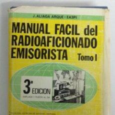 Radios antiguas: MANUAL FACIL DEL EMISORISTA. Lote 242322695