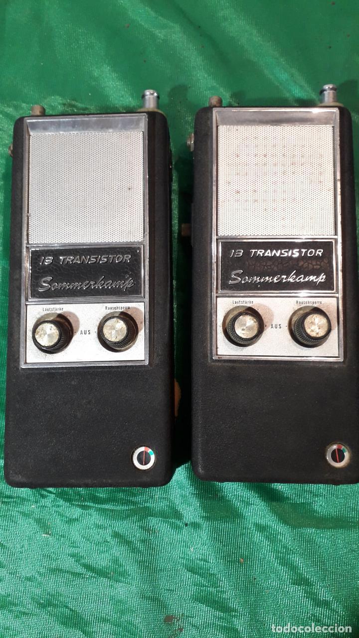 PAREJA DE WALKI-TALKIE SOMMERKAMP (Radios, Gramófonos, Grabadoras y Otros - Radioaficionados)