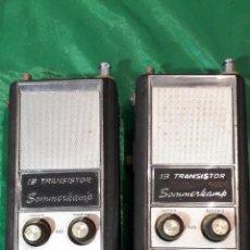 Radios antiguas: PAREJA DE WALKI-TALKIE SOMMERKAMP. Lote 243853090
