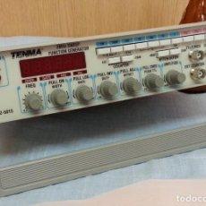 Rádios antigos: GENERADOR DE FRECUENCIA. APARATO VINTAGE. MARCA TENMA.. Lote 247935840
