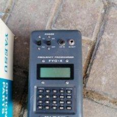 Radios antiguas: PROGAMADOR DE FRECUENCIA FYG-4 MARCA YAESU ( ESPECIAL PARA RADIOAFICIONADOS) SIN INSTRUCCIONES. Lote 249153180