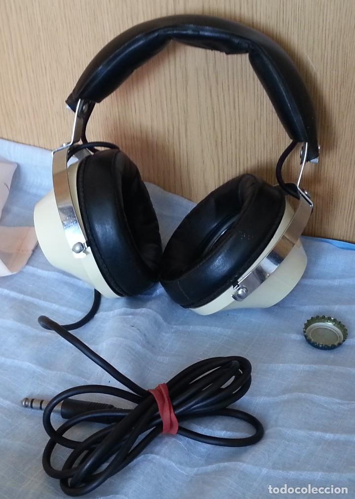 Radios antiguas: Auriculares vintage. Marca Toshiba. - Foto 2 - 254449555