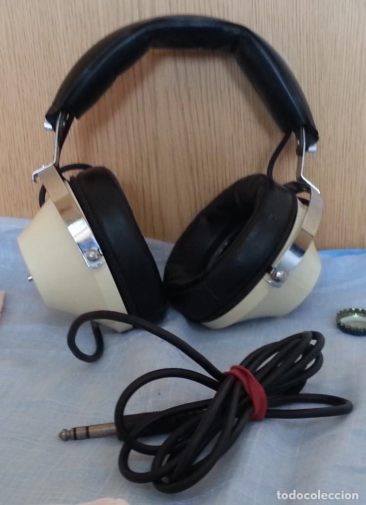 Radios antiguas: Auriculares vintage. Marca Toshiba. - Foto 3 - 254449555