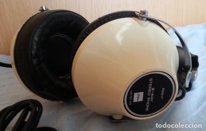 Radios antiguas: Auriculares vintage. Marca Toshiba. - Foto 4 - 254449555