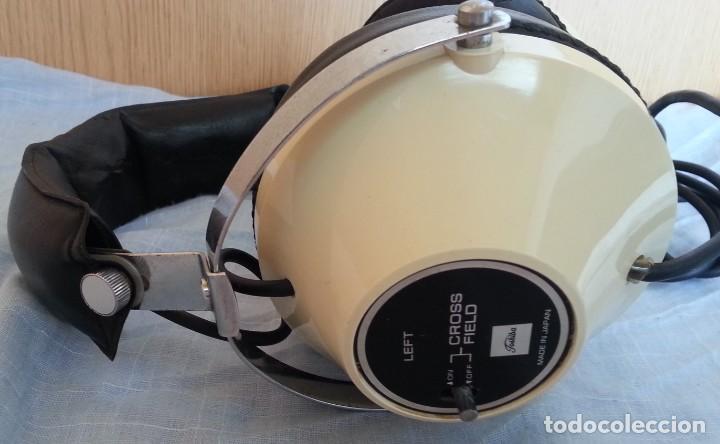Radios antiguas: Auriculares vintage. Marca Toshiba. - Foto 6 - 254449555