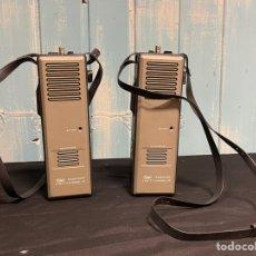 Radios antiguas: PAREJA DE WALKIE-TALKIE GREAT TRANSCEIVER 2WATT 3 CHANNEL CB. Lote 254859340