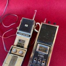 Rádios antigos: FANTAVOX Y GREAT . WALKIE TALKIES. PARA DESPIECE. Lote 257428545