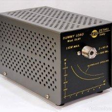 Radios antiguas: CARGA FICTICIA 50 OHM 1000W 1KW 0-500MHZ HF-VHF-UHF ZETAGI DL61 DL-61 NUEVA. Lote 259255150