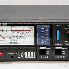 Radios antiguas: MEDIDOR SX-1000 ORIGINAL DIAMOND SWR ROE PWR 1,8-160MHZ 430-1300MHZ 5/20/200W COMPLETAMENTE NUEVO. Lote 259324025