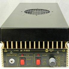Radios antiguas: ZETAGI B750 AMPLIFICADOR LINEAL 20-30MHZ CB HF AM FM BLU 600W-AM 1200W-SSB 24V PARA CAMION O BARCO. Lote 260099385