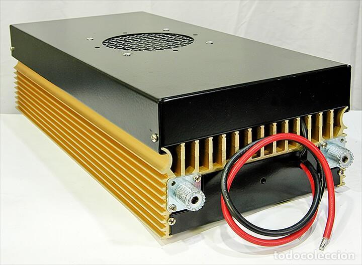 Radios antiguas: ZETAGI B750 AMPLIFICADOR LINEAL 20-30MHz CB HF AM FM BLU 600W-AM 1200W-SSB 24V PARA CAMION O BARCO - Foto 4 - 260099385
