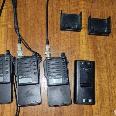 Radios antiguas: 3 EMISORAS O WALKIES STANDARD C-412. Lote 261189880