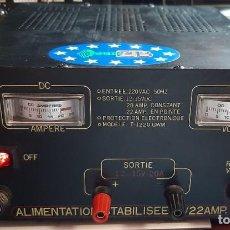 Radios antiguas: RADIOAFICIONADO FUENTE DE ALIMENTACION 20/22 AMPERES. Lote 263088760