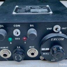 Radios Anciennes: TRANSMISOR RECEPTOR - VHF - ERCOM - MODELO ERC-105 - BARCELONA - ESPAÑA. Lote 264091290