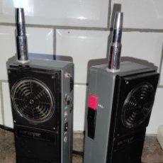 Radios antiguas: 2 RADIOS CB -WALKIE - SURVEYOR POWERPACK TRANSCEIVER 1000 - 27MHZ - JAPAN. Lote 267351929