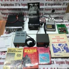 Radios antiguas: LOTE RADIO AFICIONADOS. Lote 268731494