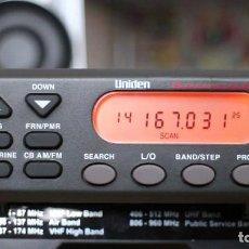Radios antiguas: SCANNER UNIDEN UBC-355CLT NUEVO A ESTRENAR. Lote 268816959