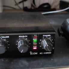 Radios antiguas: RADIO EMISORA VHF 2 METROS ICOM IC-V200. Lote 269743373