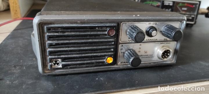 RADIO EMISORA VHF 2 METROS TELTRONIC P-25 (Radios, Gramófonos, Grabadoras y Otros - Radioaficionados)