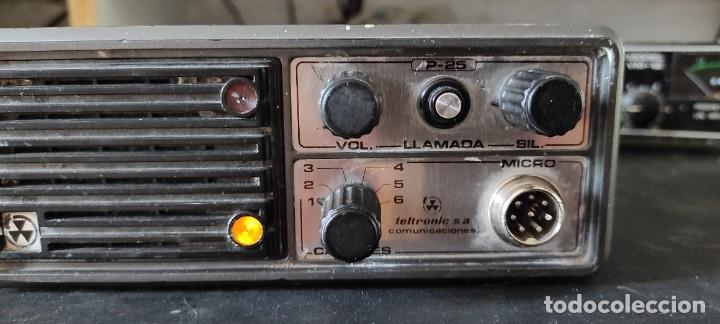 Radios antiguas: RADIO EMISORA VHF 2 METROS TELTRONIC P-25 - Foto 3 - 269744433