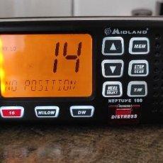 Radios antiguas: RADIO EMISORA VHF MARINA MIDLAND NEPTUNE 100. Lote 270179843