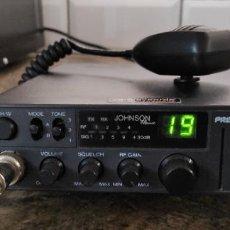 Radios antiguas: RADIO EMISORA TRANSCEPTOR CB 27MHZ PRESIDENT JOHNSON CLASSIC. Lote 270182453