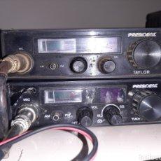 Rádios antigos: LOTE 3 EMISORAS DOS PRESIDENT Y UNA MOTOROLA. Lote 271116408