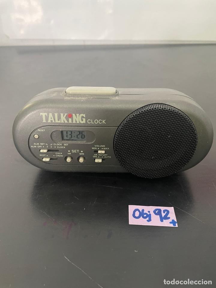 RELOJ DE DESPERTADOR (Radios, Gramófonos, Grabadoras y Otros - Radioaficionados)