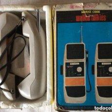 Radios antiguas: WALKIE TALKIES MORSE CODE .MODEL 33 ,DÉCADA AÑOS 80. Lote 275781208