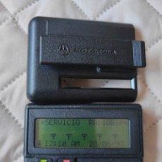 Rádios antigos: RETRO BUSCA MOTOROLA AVISADOR RADIO. Lote 276594278