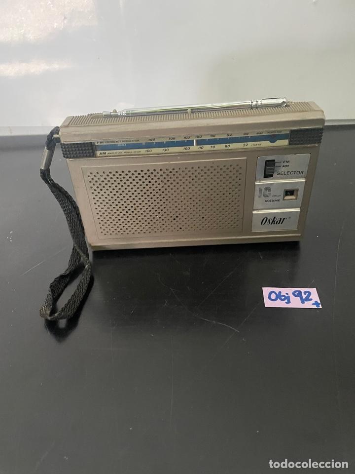 ANTIGUA RADIO OSKAR (Radios, Gramófonos, Grabadoras y Otros - Radioaficionados)