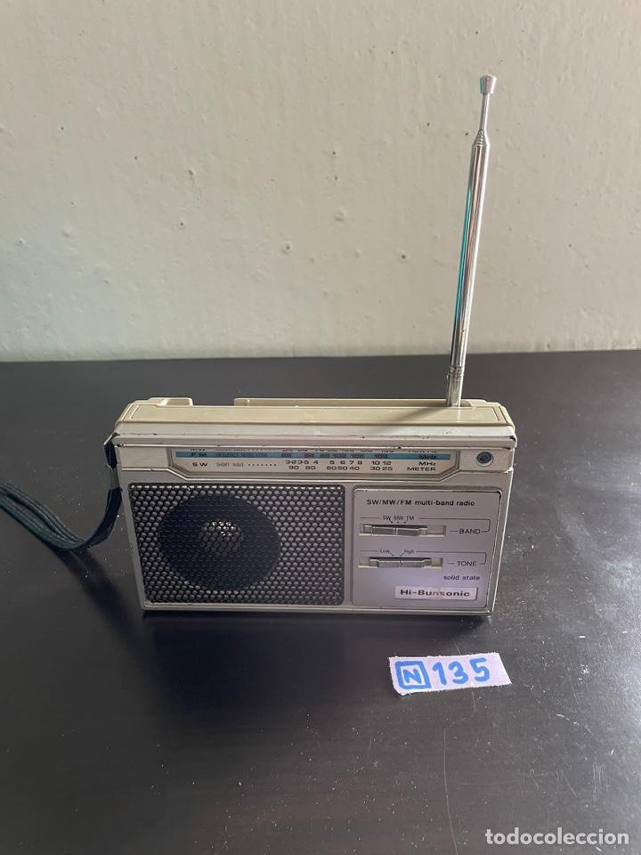 Radios antiguas: RADIO HI-Bunsonic - Foto 2 - 277501388