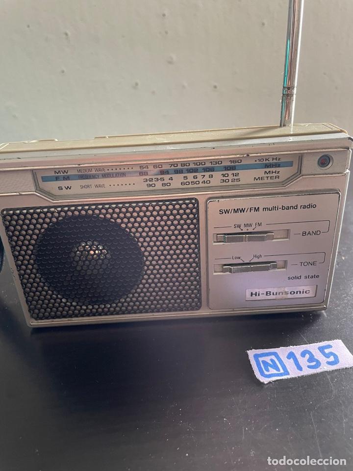 RADIO HI-BUNSONIC (Radios, Gramófonos, Grabadoras y Otros - Radioaficionados)