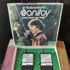 Radios antiguas: RADIOTELEFONO SONITOY(AYPE) . AÑOS 70.FUNCIONA. Lote 279527253
