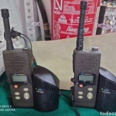 Radios antiguas: WALKIE TALKIE EMISORA TELTRONIC LOTE DE 2. Lote 280106813