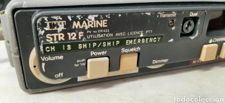 Radios antiguas: EMISORA ITT MARINE STR 12F - Foto 4 - 281773038